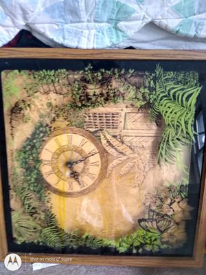 Wooden antique clock for Sale in Hamilton, OH