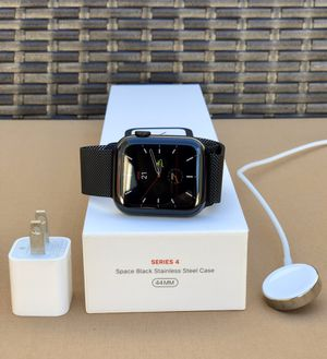Apple Watch 44MM Series 4 stainless steel for Sale in Clarksburg, MD