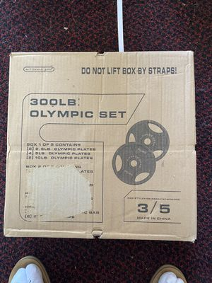 Brand New 35LB Olympic Plates for Sale in Cumberland, RI