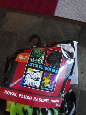 Star Wars blanket never used in Packaging for Sale in FOX RV VLY GN, IL