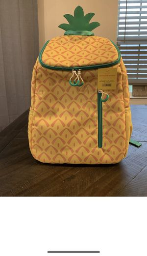 Brand new Sun Squad Pineapple Backpack Cooler Insulated Liner 20-can Target RARE! NEW! for Sale in Queens, NY