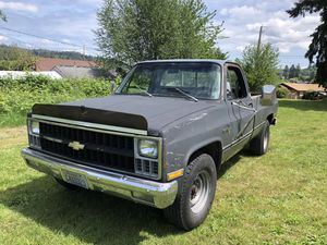 1981 Chevy c20 for Sale in Port Orchard, WA