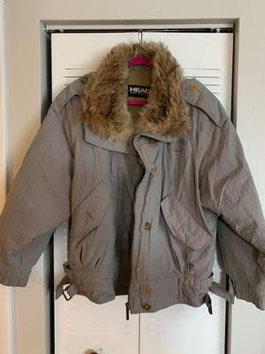 Head Sportswear winter parka jacket with FUR Iridescent for Sale in Miami, FL