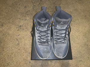 Jordan 12's wolf Greys for Sale in Washington, DC