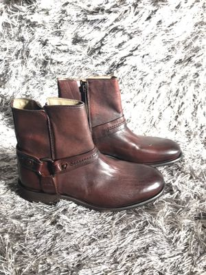 Aldo asuwen harness leather boots for Sale in Baltimore, MD
