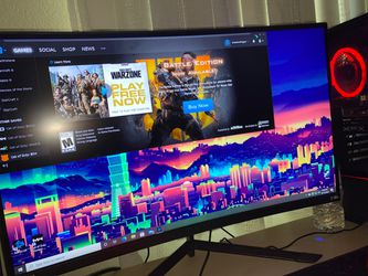 Monitor 185 Hz Curved for Sale in Napa,  CA