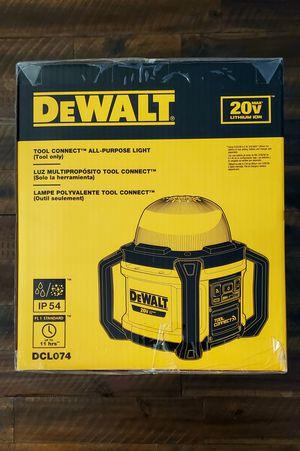 NEW DeWALT 20vMAX LED Light - 5000 Max Lumens for Sale in CORNWALL Borough, PA