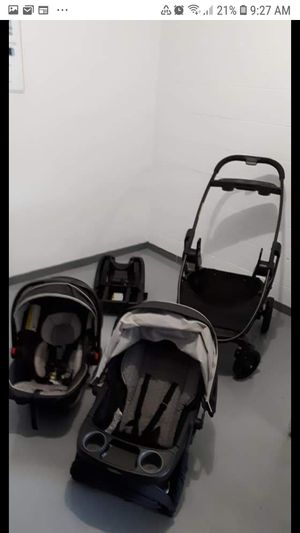 Graco stroller infant 3 in 1 car seat travel system set . for Sale in Des Plaines, IL