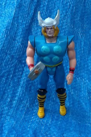 1990 Marvel Super Heroes The Mighty Thor Action Figure ToyBiz Vintage Collectible for Sale in Pasadena, CA