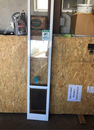 Doggy door for sliding glass door for Sale in Citrus Heights, CA