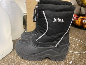 Size 13 kids black Snow Boots for Sale in Longmont, CO