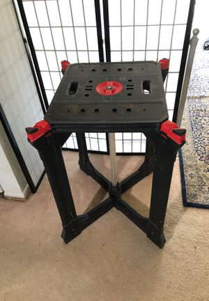 Saw Utility table - folding for Sale in Silver Spring, MD