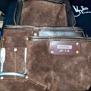 Suede Benchmark Leather Made Hammer Tool Bag for Sale in Ferndale, WA