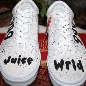 Juice Wrld custom vans for Sale in Modesto, CA