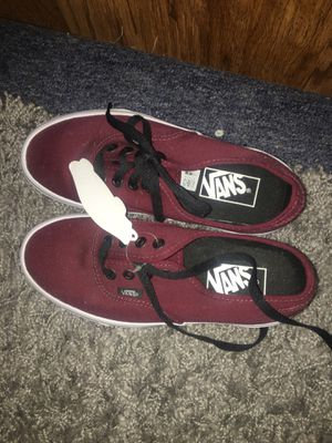 Burgundy Women Vans -BRAND NEW!! for Sale in Sacramento, CA