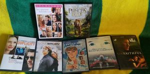 7 Dvd Movies for $10. Princess Bride. Love Story. Duplicity. He's Just Not That Into You. Peggy Sue Got Married. Artificial Intelligence. Unfaithful. for Sale in OR, US