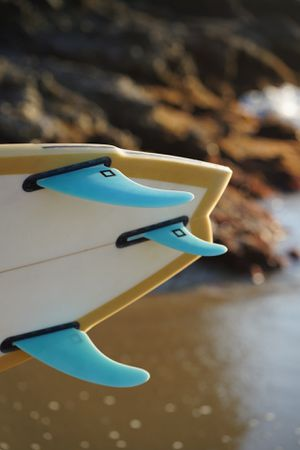 Surf Squared Performance Twin Fin Set - Blue Green for Sale in Los Angeles, CA