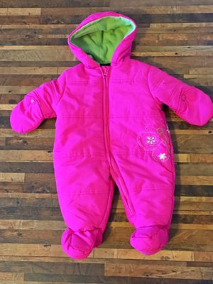 Warm infant snow suit for Sale in Peyton, CO