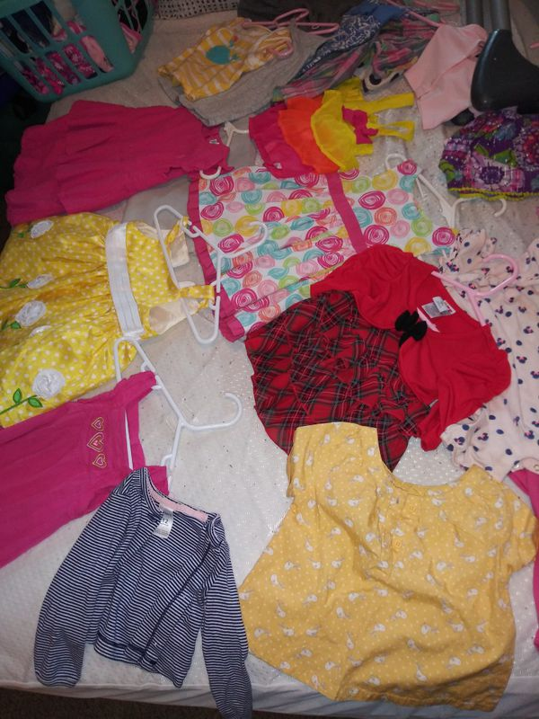 Tons of baby girl dresses