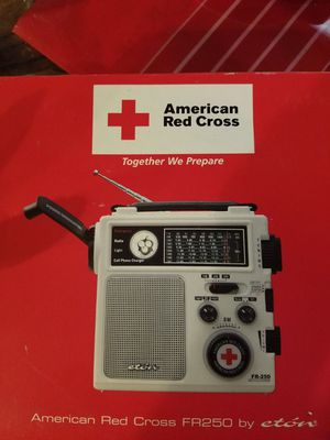 American Red cross emergency radio for Sale in NC, US
