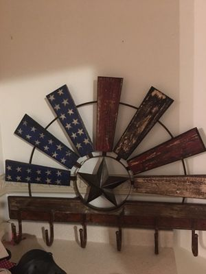 Flag fan wall hanger for Sale in Ballinger, TX