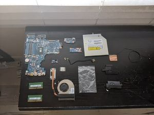 """HP - 17.3"""" Laptop - Intel Core i5 - 16GB Memory - 1TB Hard Drive Internal Parts Only for Sale in Fresno, CA"""