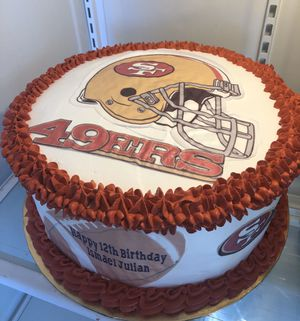 Football team cake for Sale in Phoenix, AZ