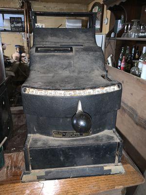 Old antique cash register for Sale in Schiller Park, IL