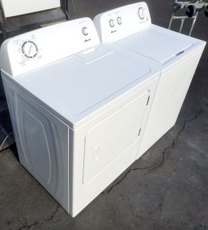 AMANA WASHER AND DRYER SET( ELECTRIC ) for Sale in Vancouver, WA