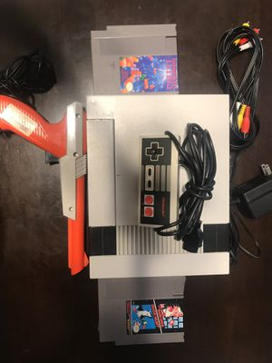 NES Bundle with 5 games for Sale in Fort McDowell, AZ
