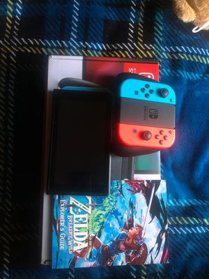 Nintendo Switch bundle with Breath of Wild special edition for Sale in Los Angeles, CA