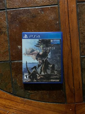 Monster Hunter: World (PS4) for Sale in Miami, FL