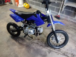 125cc ssr kids dirtbike. Runs rides stops well for Sale in Berlin, CT