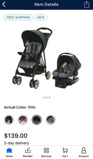 Car seat & Stroller Travel System NEW for Sale in Modesto, CA