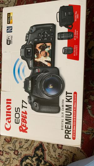 CANON EOS REBEL t7 premium kit for Sale in South Gate, CA