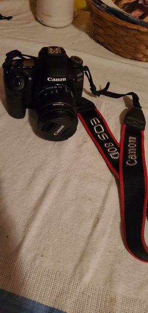 Canon EOS 80D for Sale in Grants Pass, OR