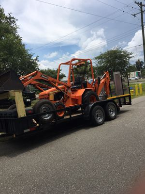 Allmand back haul with trailer for Sale in Tampa, FL