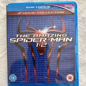 The Amazing Spider-Man 1-2 [Blu-ray] [Region-Free] for Sale in Hollywood, FL