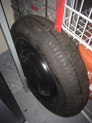 Small care spare tire 4 bolt NEW with other tools for Sale in Heidelberg, PA