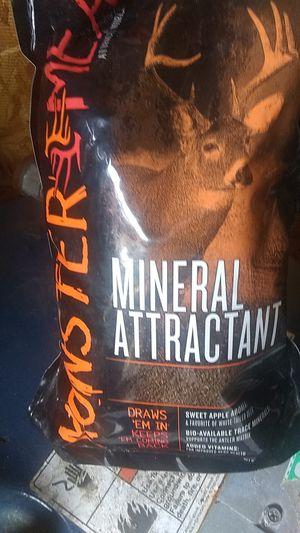 Monster meal mineral attractant for Sale in Elkins, WV