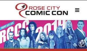 Selling 2 Friday tickets to Rose City Comic Con for Sale in Gresham, OR