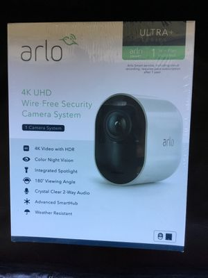 Arlo Ultra 4K UHD Wire-Free Security System - 1 Camera Kit for Sale in Portland, OR