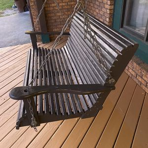 Swing all Wood Front porch for Sale in Tinley Park, IL
