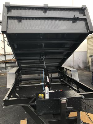 8x10x2 DUMP TRAILER WITH RACK for Sale in Arcadia, CA