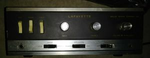 Vintage Lafayette Solid State Stereo-25 Hi-Fi Amplifier for Sale in Dallas, TX
