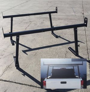 New in box universal set of 2 width adjustable ladder truck racks 650 lbs capacity for Sale in Los Angeles, CA