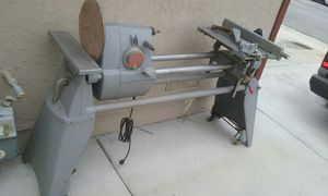 Shpsmith lathe as is with sander attachment and table saw attachment price is firm no lowballers please no trades for Sale in Fontana, CA