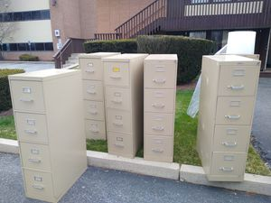 Filing cabinets file cabinets heavy duty for Sale in Woonsocket, RI