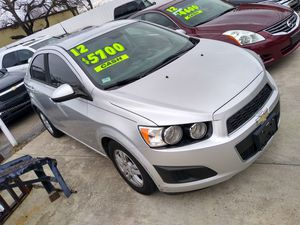 2012 Chevy Sonic for Sale in Fort Worth, TX