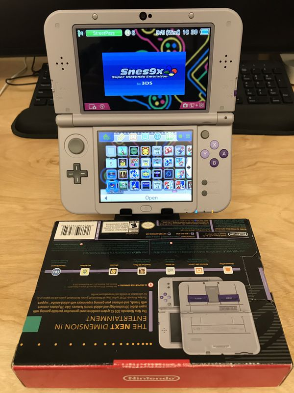 MODDED 128GB SNES 3DS XL 130 games & NES/SNES Emulators for Sale in  Calimesa, CA - OfferUp